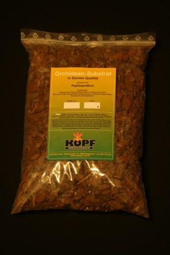 Substrat für Frauenschuhe (Paphiopedilum) 10 Liter