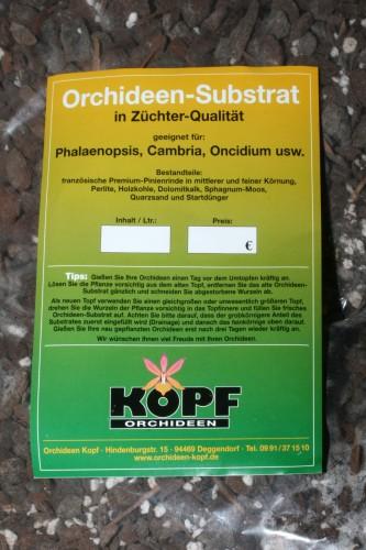 Orchideen-Substrat für Phalaenopsis... 10 Liter